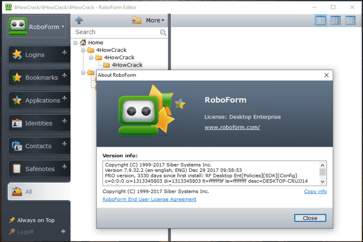 RoboForm Crack 8.9.5.5 Plus Latest Keygen 2021 Full Version Download