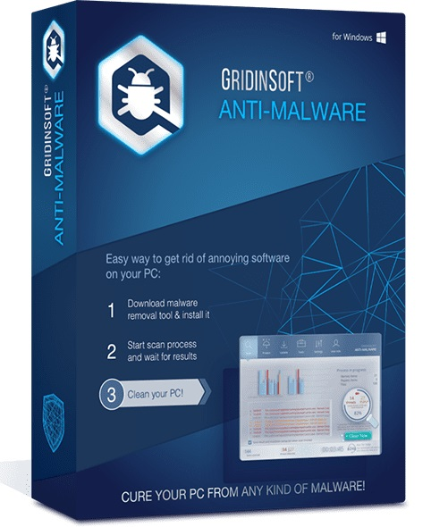 GridinSoft Anti-Malware Crack 4.1.76.5140